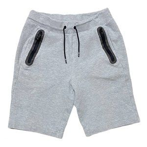 Gapfit Kids Zip-Pocket Shorts Light Heather Grey